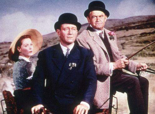 Der Kerl passt schon auf! Maureen O'Hara, John Wayne und Aufpasser Barry Fitzgerald