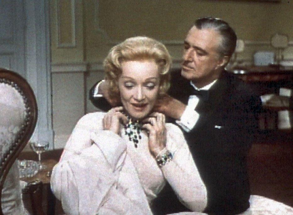 Oh, danke für die Kette! Marlene Dietrich und Vittorio De Sica