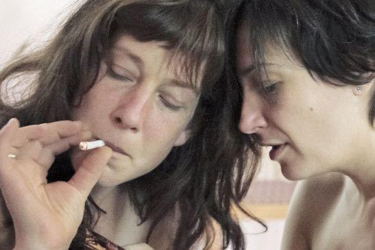 Sabine Wolf (l.) und Karina Plachetka wollen  Mütter werden ...