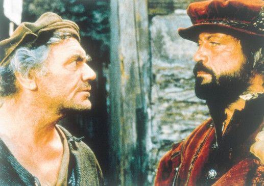 Wer ist hier der Bettler? Ernest Borgnine (l.) und Oliver Reed
