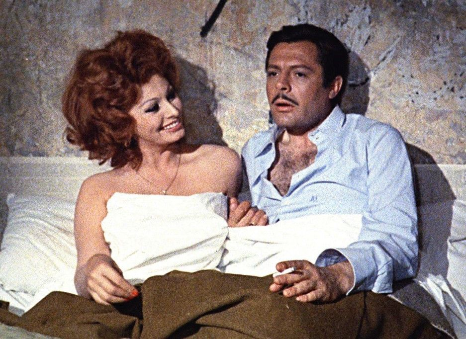 Ich soll heiraten? Marcello Mastroianni und Sophia Loren
