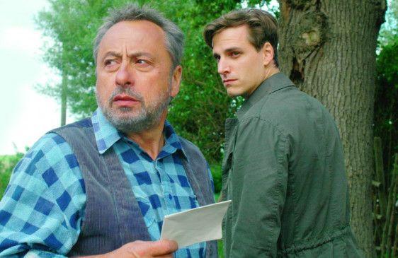 Erleben stürmische Zeiten: Wolfgang Stumph und Max von Thun als Vater und Sohn