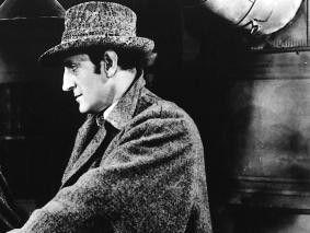 Wieder im Einsatz: Basil Rathbone als Sherlock  Holmes