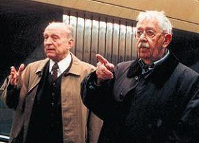 Wir sind nur Schauspieler! Vlastímil Brodský (r.) und sein Freund