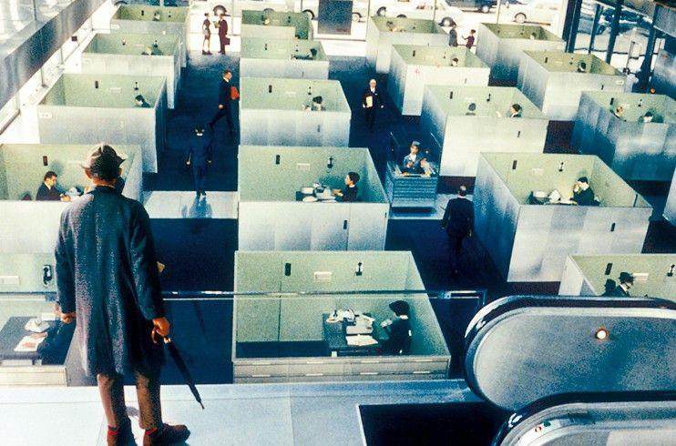 Der Regisseur Jacques Tati und seine moderne Stadt