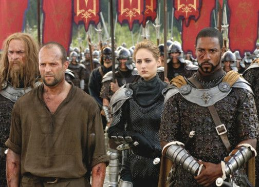 Warten auf den Einsatz: Jason Statham, Leelee Sobieski und Brian White (v.l.)