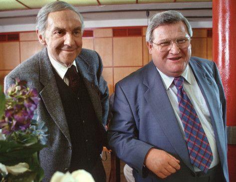 Den Spesenrittern auf der Spur: Bienbusch (Harald Juhnke, l.) und Eppelmann (Horst Krause)
