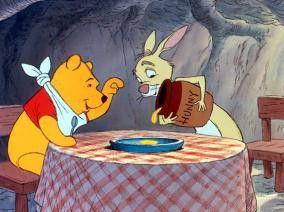 Endlich lecker Honig! Winnie Puuh isst Rabbit  alles weg