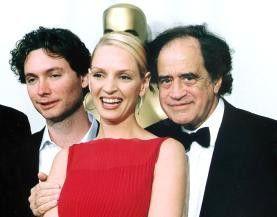 Verdienter Oscar: Produzent Arthur Cohn (r.) mit Regisseur Kevin MacDonald und Uma Thurman