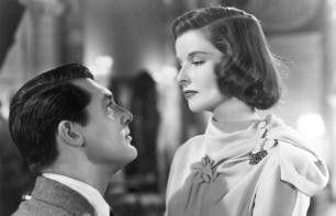 Sind sie nicht etwas klein geraten? Katharine Hepburn und Cary Grant