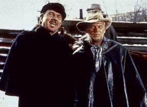 Die Indianer machen aber mächtig Ärger! Karl Malden und Richard Widmark