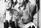 Öh, ich sehe aber nichts! Jerry Lewis (r.) und Dean  Martin auf hoher See