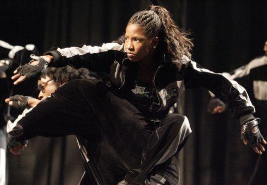 Ich will tanzen! Rutina Wesley als Raya