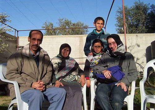Starb 2003 im Gaza-Streifen: Rachel Corrie (r.)