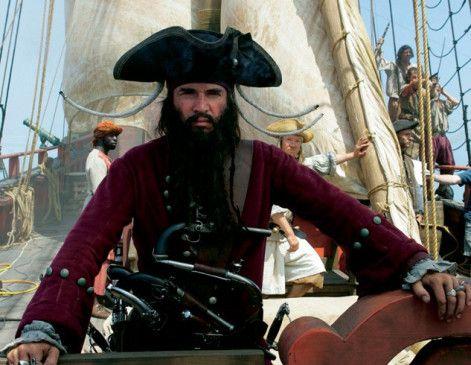 Ich bin der schlimmste Pirat, den ihr je gesehen habt! James Purefoy