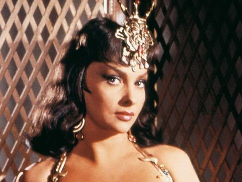 Ich bin die Königin von Saba! Gina Lollobrigida