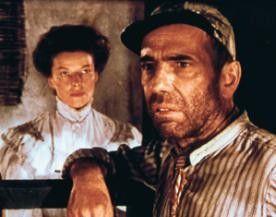 Diese Frau raubt mir den letzten Verstand! Humphrey  Bogart mit Katharine Hepburn