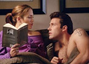 Lass mich, ich will lesen! Jennifer Lopez und Ben Affleck