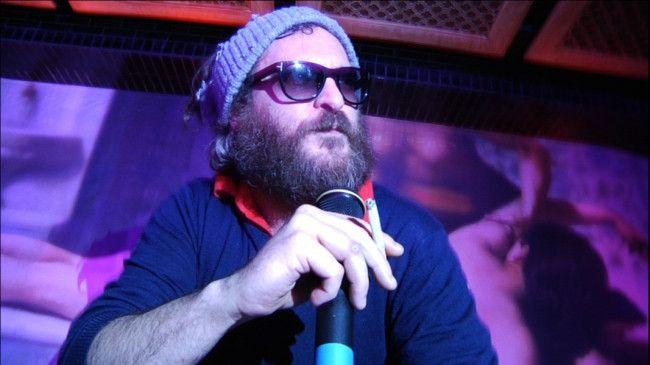 Joaquin Phoenix als Rapper