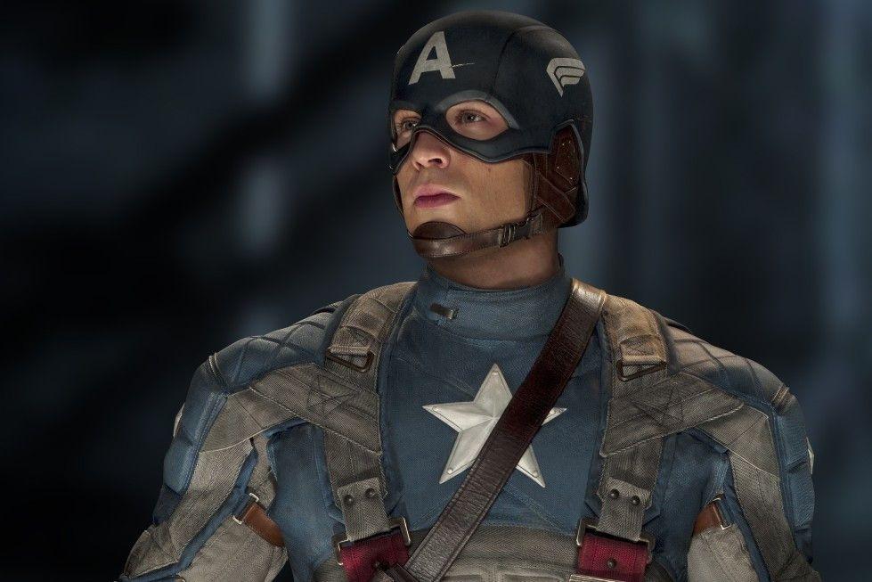 Chris Evans als Captain America.