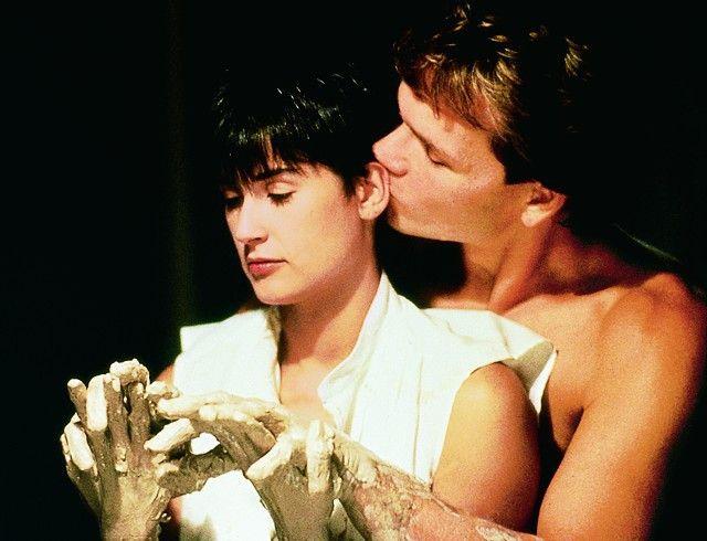 Schatz, was hast du wieder mit der Erdnussbutter  gemacht? Demi Moore und Patrick Swayze