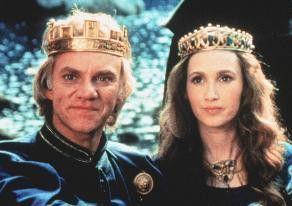 Sind wir nicht ein schönes Paar? Malcolm McDowell und Rosalyn Landor