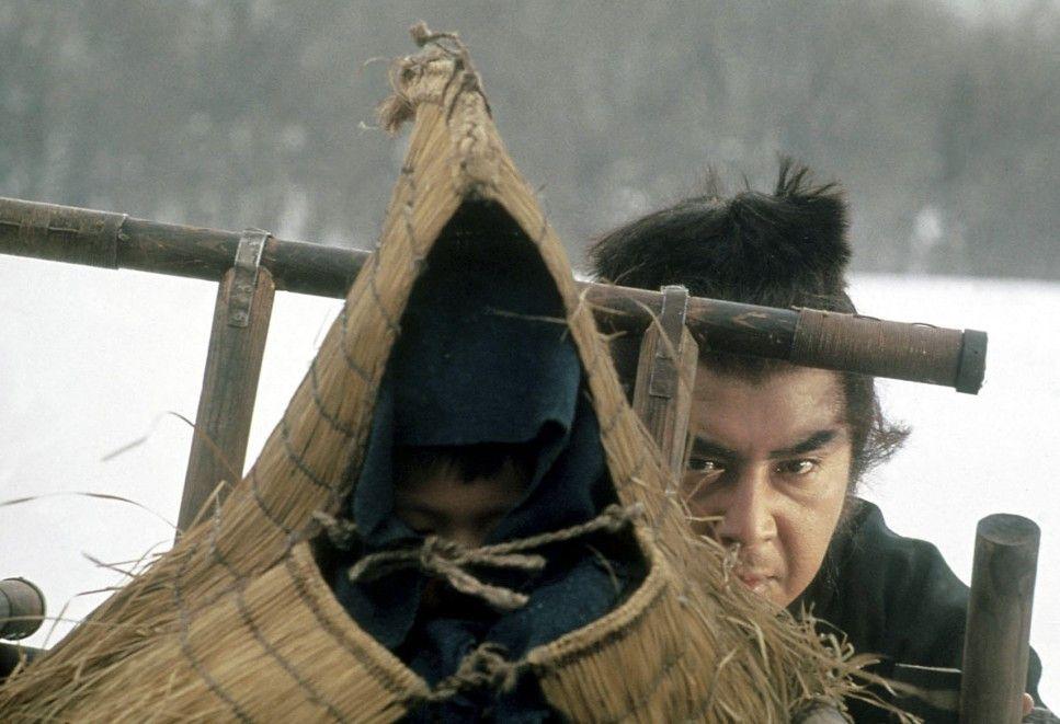 Den Gegner immer im Blick: Tomisaburo Wakayama  als Itto Ogami