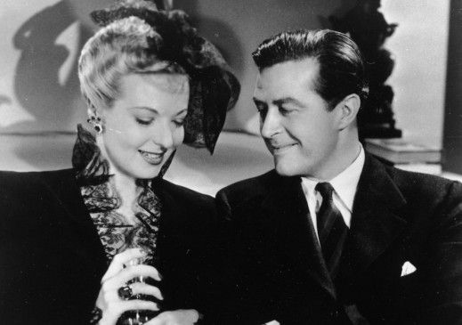 Mit mir brauchst du keine Angst zu haben! Ray Milland mit Marjorie Reynolds