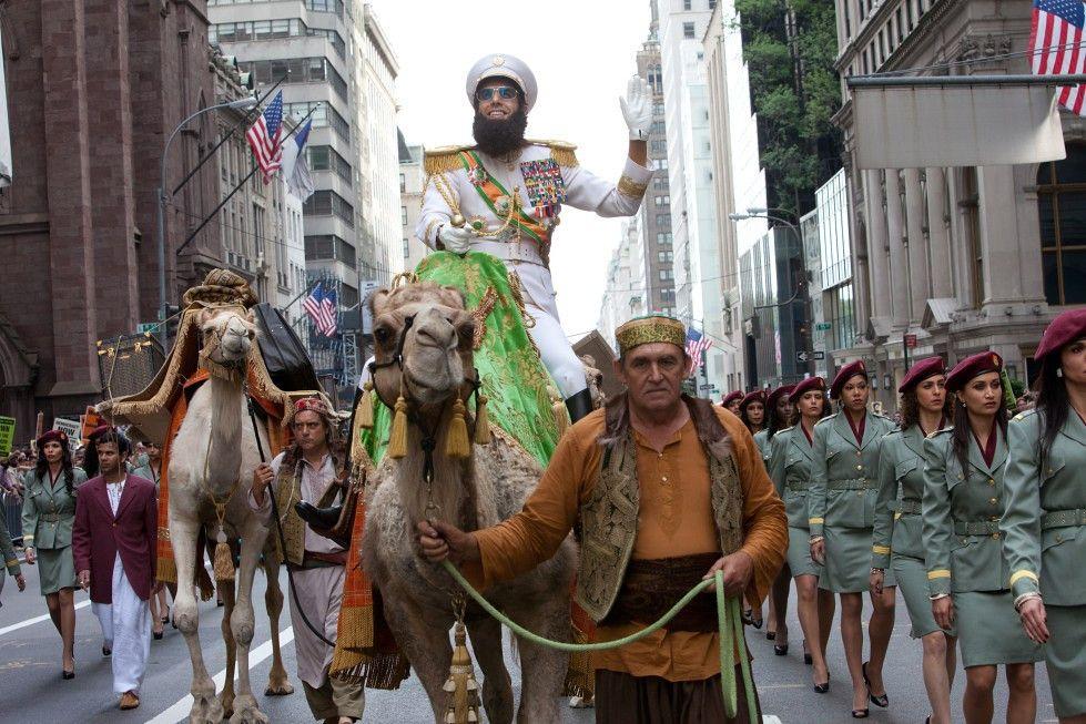 Toll hier in New York! Sacha Baron Cohen als Diktator auf Reisen