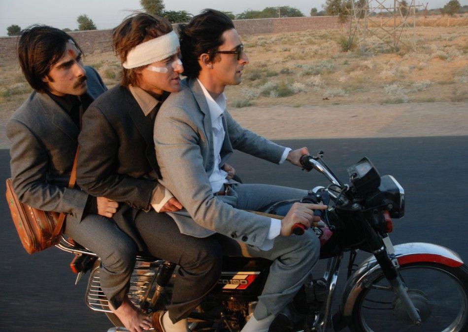 Der Zug ist abgefahren! Jason Schwartzman, Owen Wilson und Adrien Brody (v.l.) unterwegs