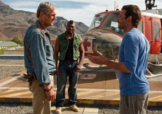 3/4-A-Team: Liam Neeson (l.) heckt mal wieder etwas aus