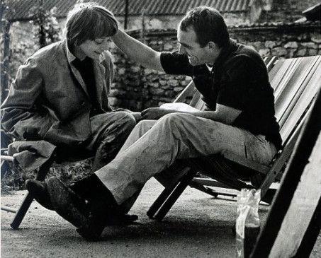 Bewegungskünstler Jean Tinguely mit seiner langjährigen Lebenspartnerin Niki de Saint Phalle
