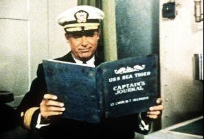 Gestresster Kapitän: Cary Grant