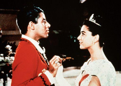 Wenn sie Prinzessin Charmant sind, bin ich Prince  Charming! Jerry Lewis und Anna Maria Alberghetti