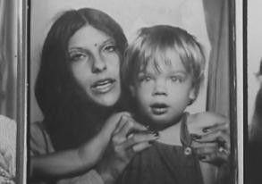Jonathan Caouette mit seiner Mutter Renée