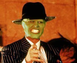 Dass Jim Carrey ganz grün im Gesicht ist, liegt  nicht an seinen Mitstreitern