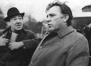 Ich glaube, ich bin verkohlt worden! Richard Burton (r.) in der Rolle des Alec Leamas