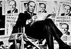Wieder nur Lügen über mich in der Zeitung! Henry Fonda in der Rolle des Präsidentschaftkandidaten Russell
