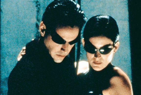 Sie leben in der Matrix: Keanu Reeves und Carrie-Ann Moss