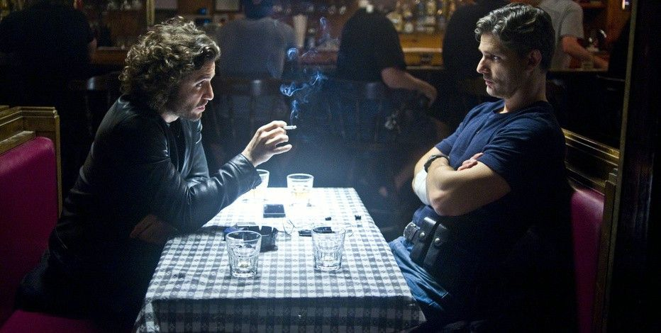 Der Priester und der Cop: Edgar Ramírez (l.) und Eric Bana.
