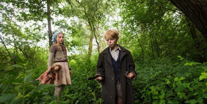 Auf der Flucht in ein neues Leben: die Kinder im Wald.