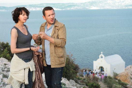 Endlich in Griechenland: Valérie Bonneton und Dany Boon.