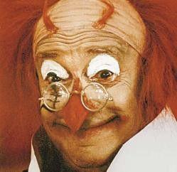 Immer lustig: Clown Campanello