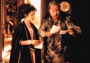 Welcher Brief ist jetzt von wem? Helena Bonham Carter und Nigel Hawthorne