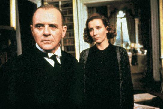 Unerfüllte Liebe: Butler (Anthony Hopkins) und  Haushälterin (Emma Thompson)