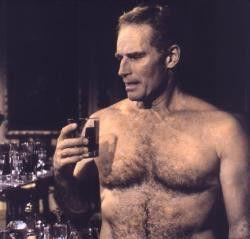 Auch unbekleidet ganz schön fesch: Charlton Heston