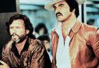 Ich bekomm die Frau! Kris Kristoffersen und Burt Reynolds (r.) sind sich  nicht einig