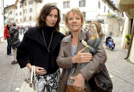 Gemeinsam sind wir stark: Katharina Müller-Elmau und Mariele Millowitsch (r.)