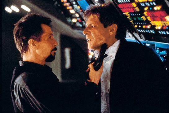 So, Mister President, hab' ich dich endlich! Gary  Oldman (l.) und Harrison Ford
