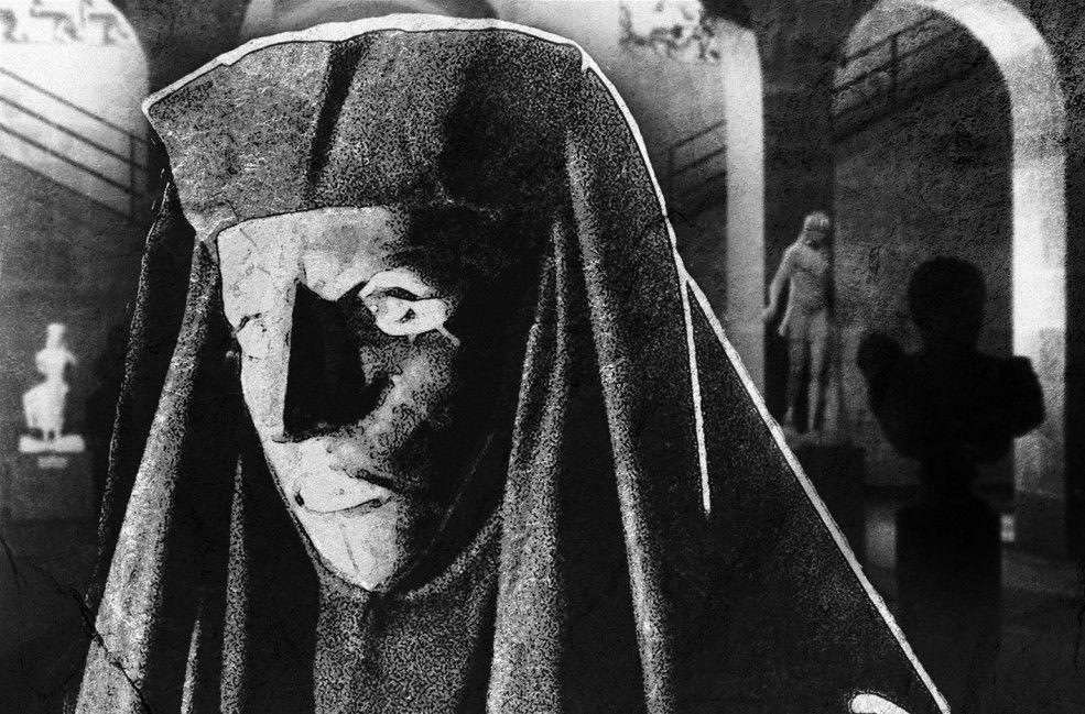 Geheimnisvoll: Juliette Gréco als Belphégor